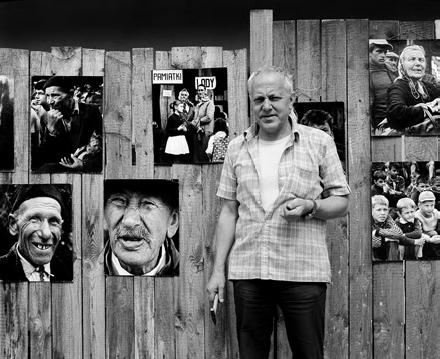 Fryderyk Kremser w Kazimierzu Dolnym w 1986 r